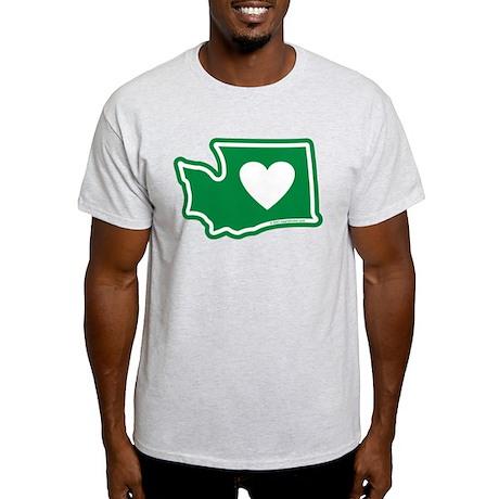 Heart in Washington Light T-Shirt