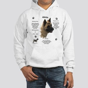 Akita 1 Hooded Sweatshirt