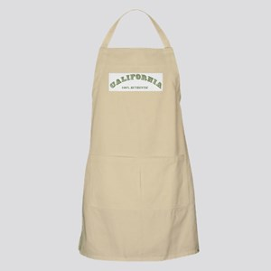 California 100% Authentic BBQ Apron