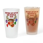 Christmas without my Sailor Drinking Glass
