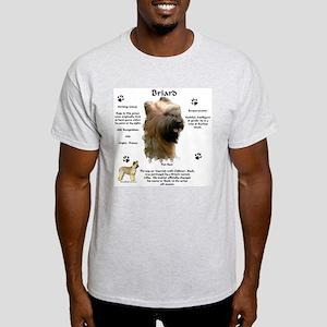 Briard 1 Ash Grey T-Shirt