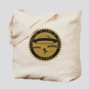 50th UFO Abduction Tote Bag