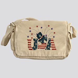 USA Fireworks Messenger Bag