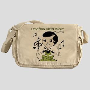 Croatian Girls Rock Messenger Bag