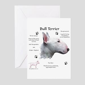 Bull Terrier 1 Greeting Cards (Pk of 10)