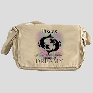 Pisces the Fish Messenger Bag