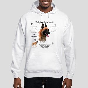 Malinois 1 Hooded Sweatshirt