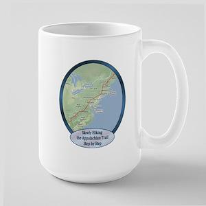 Slowly Hiking the A.T. Large Mug