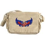 Heart Flag ver4 Messenger Bag