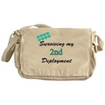 USCG Wife 2nd Deployment Messenger Bag