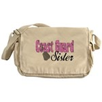 Coast Guard Sister Messenger Bag