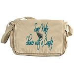 Shower with a Coastie ver2 Messenger Bag