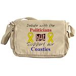 Debate Politicians Support ou Messenger Bag