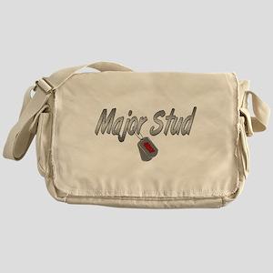 Navy Major Stud ver2 Messenger Bag