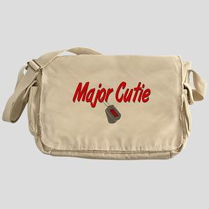 Navy Major Cutie Messenger Bag