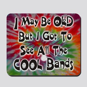 ALL the COOL Bands!!! - Mousepad