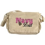 Navy Brat Messenger Bag