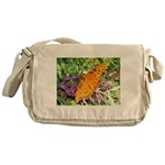 Beautiful Butterfly Messenger Bag