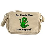 Do I Look Like I'm Happy Cate Messenger Bag