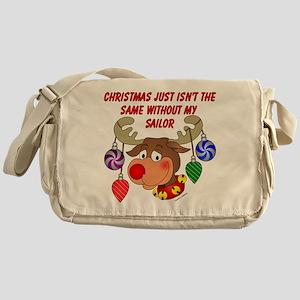Christmas without Sailor Messenger Bag
