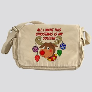 Christmas I want my Soldier Messenger Bag
