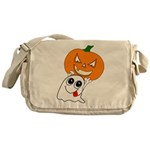 Ghost Jack-O-Lantern Messenger Bag