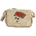 Ghost Boo Messenger Bag