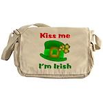 Kiss Me I'm Irish Hat ver2 Messenger Bag