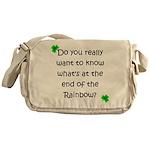 End of the Rainbow Messenger Bag