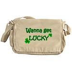 Wanna Get Lucky Messenger Bag