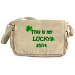 My Lucky Shirt Messenger Bag