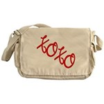 XOXO Messenger Bag