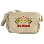 Be Mine Bees Messenger Bag