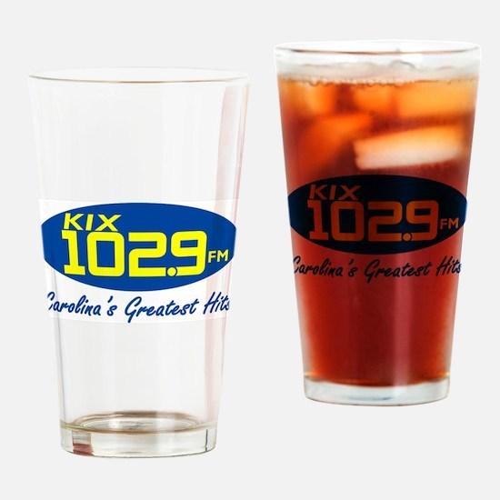 Cute Wkix radio am fm radio station Drinking Glass