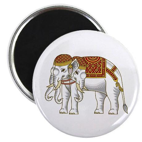 Thai Erawan White Elephant Magnet
