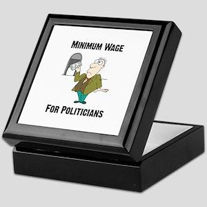Minimum Wage Keepsake Box