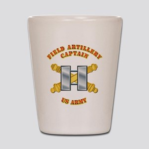Artillery - Officer - Captain Shot Glass