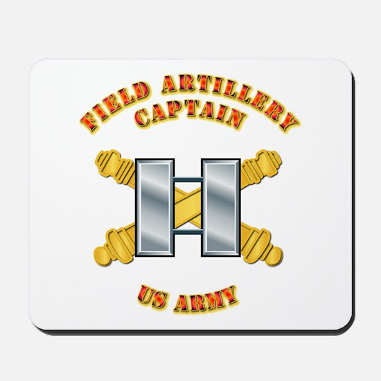 Artillery - Officer - Captain Mousepad