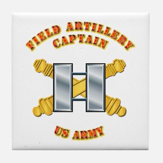 Artillery - Officer - Captain Tile Coaster
