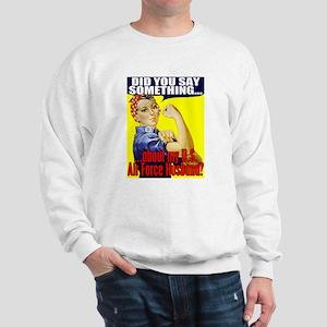 USAF Wife (Rosie) Sweatshirt