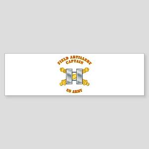 Artillery - Officer - Captain Sticker (Bumper)