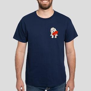 Doodle Kisses Dark T-Shirt