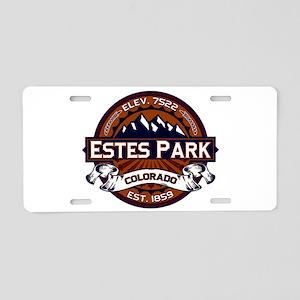 Estes Park Vibrant Aluminum License Plate