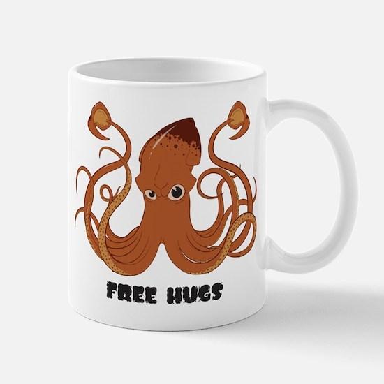 Free Hugs Squid Mug