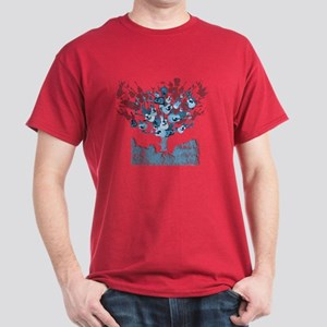 Acoustic Guitar Tree Dark T-Shirt