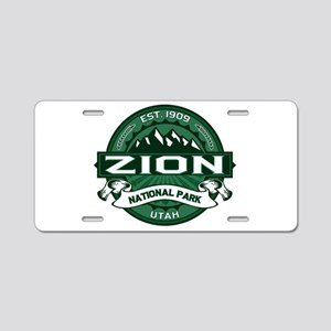 Zion Forest Aluminum License Plate