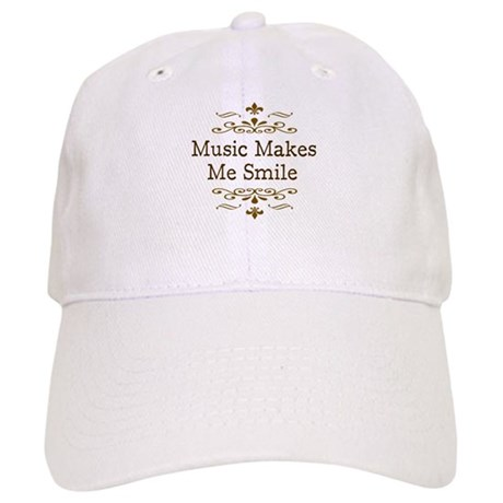 'Music Makes Me Smile' Cap