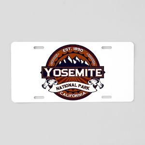 Yosemite Vibrant Aluminum License Plate