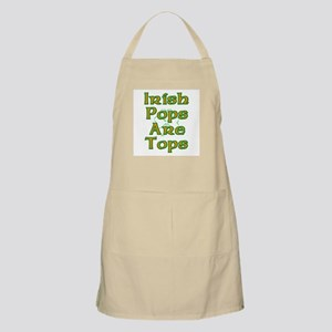 Irish Pops are Tops BBQ Apron