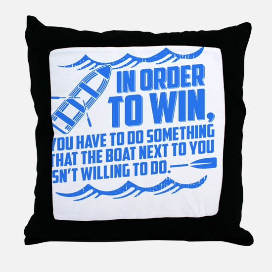 Cool Rowing Throw Pillow